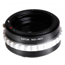 Bague objectif NIKON G vers boitier Sony Nex M helicoid