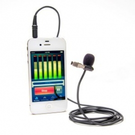 AZDEN - Micro cravate spécial Smartphones/tablettes avec jack 3.5mm