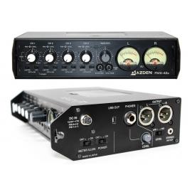 AZDEN - Mixette FMX42U 4 canaux avec 2 sorties XLR et sortie USB