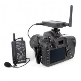 AZDEN - Microphone PRO XD sans fil compact 2.4 GHz