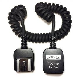 METZ TCC-10 / Canon cable TTL spiralé 1,80m