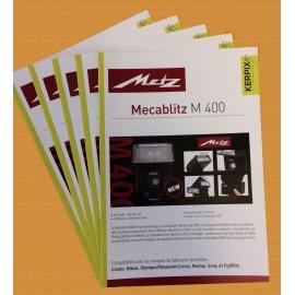 METZ - 5 catalogues couleur A5