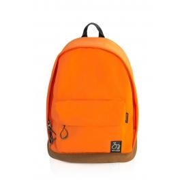 Inzago - Sac à dos Orange - compartiment Photo pliable