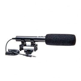 AZDEN - Microphone SGM990i directionnel avec « Zoom », Jack 3.5mm