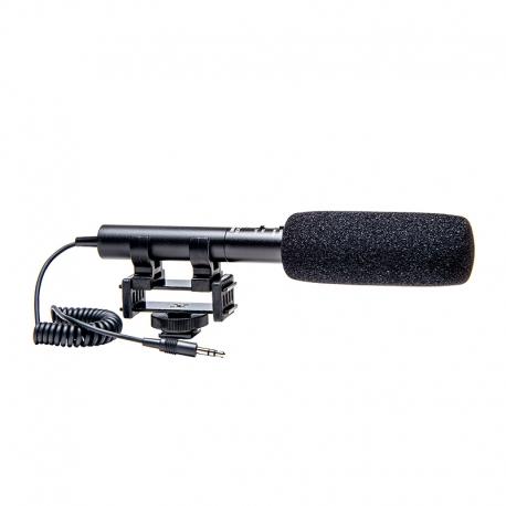 AZDEN - Microphone SGM990i directionnel avec « Zoom », Jack 3.5mm