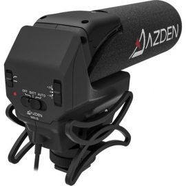 AZDEN - Microphone SMX15 Vidéo pro mono avec prise Jack 3.5mm