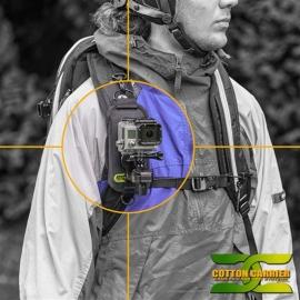 Cotton Carrier - StrapShot avec fixation Action Cam