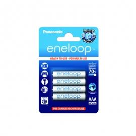 ENELOOP- Blister de 4 piles rechargeables LR03-AAA