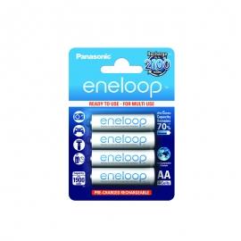 ENELOOP - Blister de 4 piles rechargeables LR06-AA