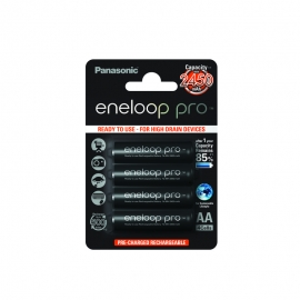ENELOOP PRO - Blister de 4 piles rechargeables LR06-AA