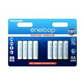 ENELOOP - Blister de 8 piles rechargeables LR06-AA