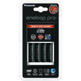 ENELOOP PRO - Chargeur Rapide + 4 piles LR06-AA