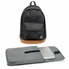 Inzago - Sac à dos Noir - Housse Laptop incluse