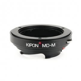 Bague objectif Minolta MD vers boitier Leica M