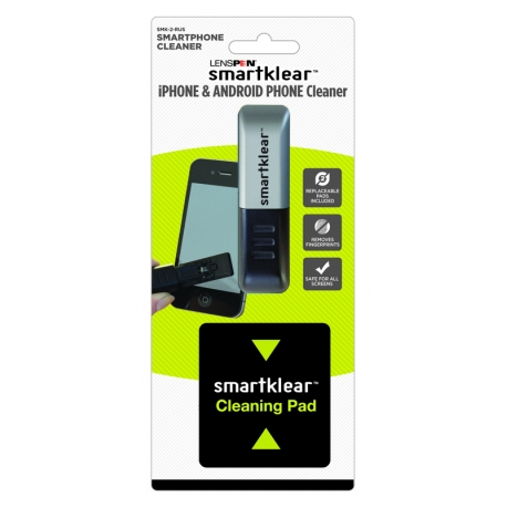 SmartKlear - Nettoyeur iPhone et Smartphone - 2 recharges