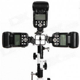 METZ FGA-104 Adaptateur jusqu'à 4 flashes cobra ou LEDs sur pied