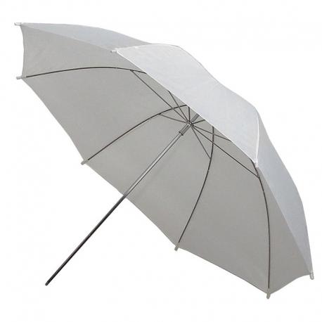 METZ Parapluie de studio blanc translucide UM-80 W
