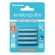ENELOOP LITE - Blister de 4 piles rechargeables LR003 - 550mAh