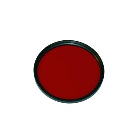 Filtre vissant Rouge 62mm
