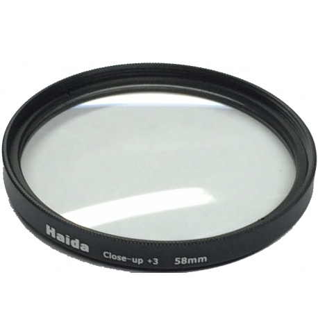 Filtre vissant Close-Up +3 55mm