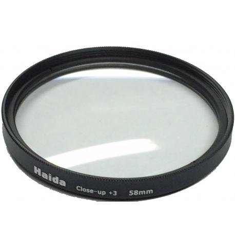 Filtre vissant Close-Up +3 52mm