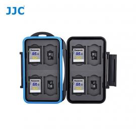 Boite de rangement étanche cartes mémoire - 8x SD et 8x Micro-SD