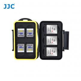 Boite de rangement étanche cartes mémoire - 4x SD-SDHC et 3xXQD