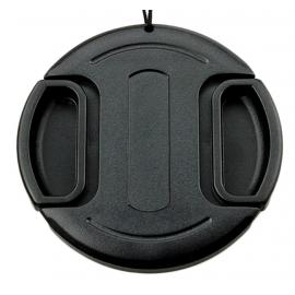 Bouchon d'objectifs avec fil sécurité - 40,5mm