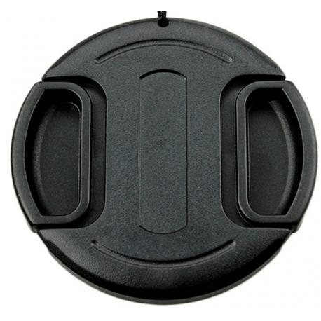 Bouchon d'objectifs avec fil sécurité - 49mm