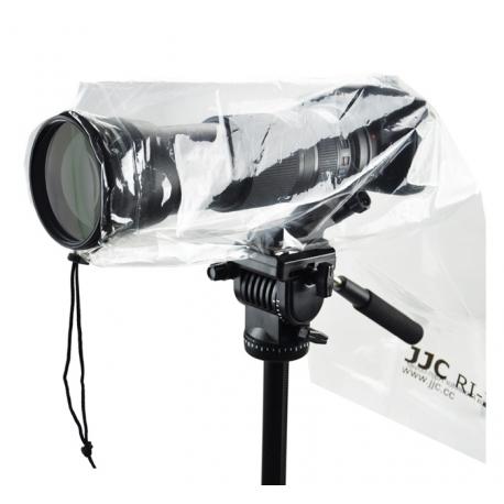 Lot de 2 housses anti-pluie Reflex avec objectif - max 45cm