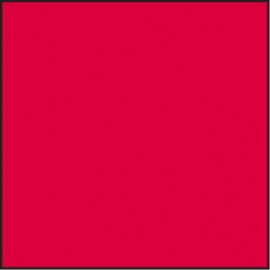 LEE Filters Gelatine Tricolour 25 Rouge