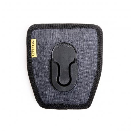 Cotton Carrier - Holster seul G3 Gris, à fixer sur Cotton ou ceinture