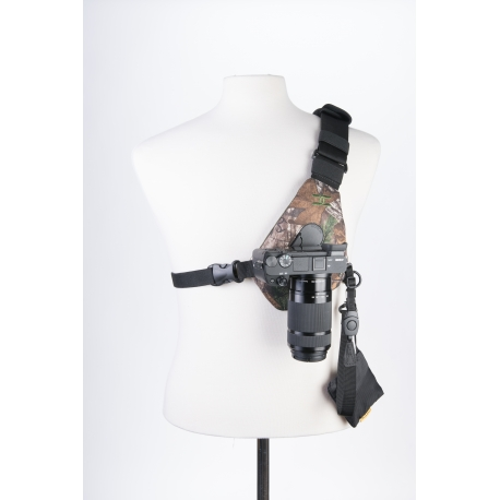 Cotton Carrier - SKOUT - Kit mains-libres pour appareil photo - Camo