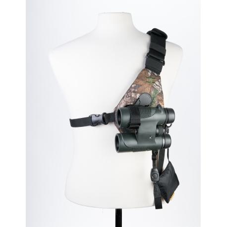 Cotton Carrier - SKOUT - Kit mains-libres pour jumelles - Camo