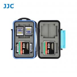 Boite de rangement étanche cartes mémoire - 4 x CF - 8 xSD
