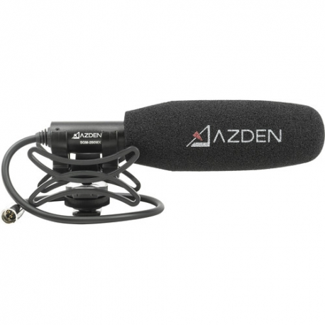 AZDEN - Microphone Compact Pro avec prise mini-XLR