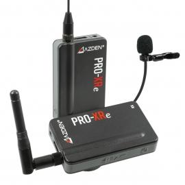 AZDEN - Microphone PRO-XRe sans fil 2.4 GHz - Portée 150m