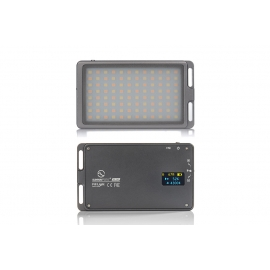 Led video compact bicolore 2800 mAh