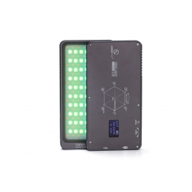 KIT Led video compact bicolore 4000 mAh RGB + rotule+ support