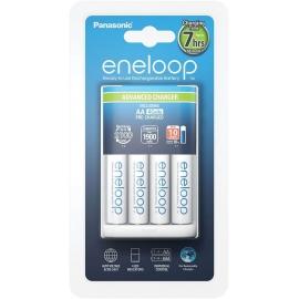 ENELOOP-Chargeur7hBQ-CC17 + 4 PilesAA-NiMh-1900Ah (piles blanches)