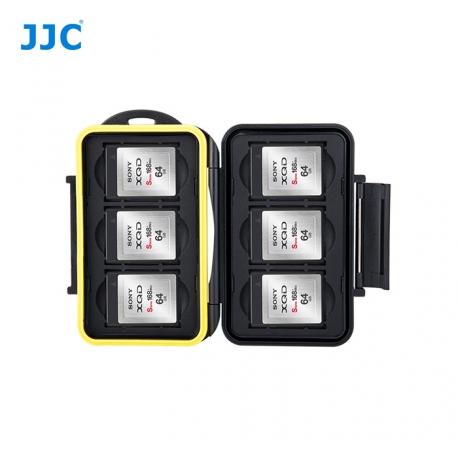 jjc - Boite de rangement étanche pour cartes memoire - 6x XQD