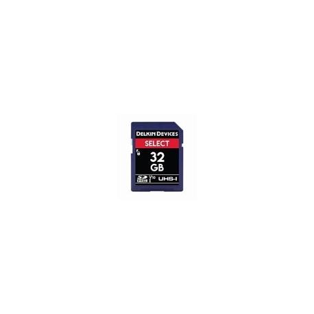 DELKIN - 32GB SELECT SDHC UHS-I (V10)