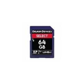 DELKIN - 64GB SELECT SDXC UHS-I (V10)