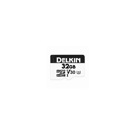 DELKIN - 32GB ADVANTAGE microSDHC UHS-I 660X (V30)